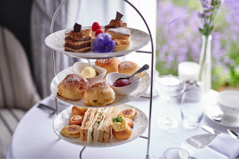 bed breakfast and afternoon tea   Burnham Beeches Hotel