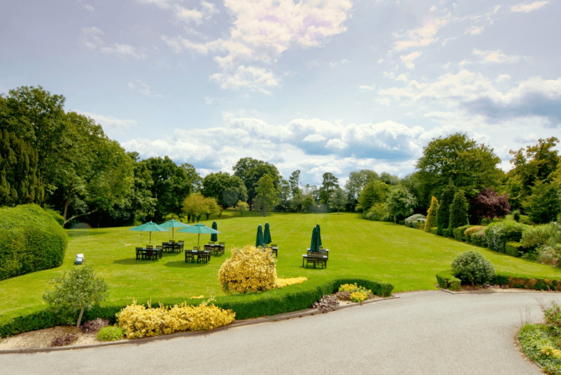garden | Burnham Beeches Hotel