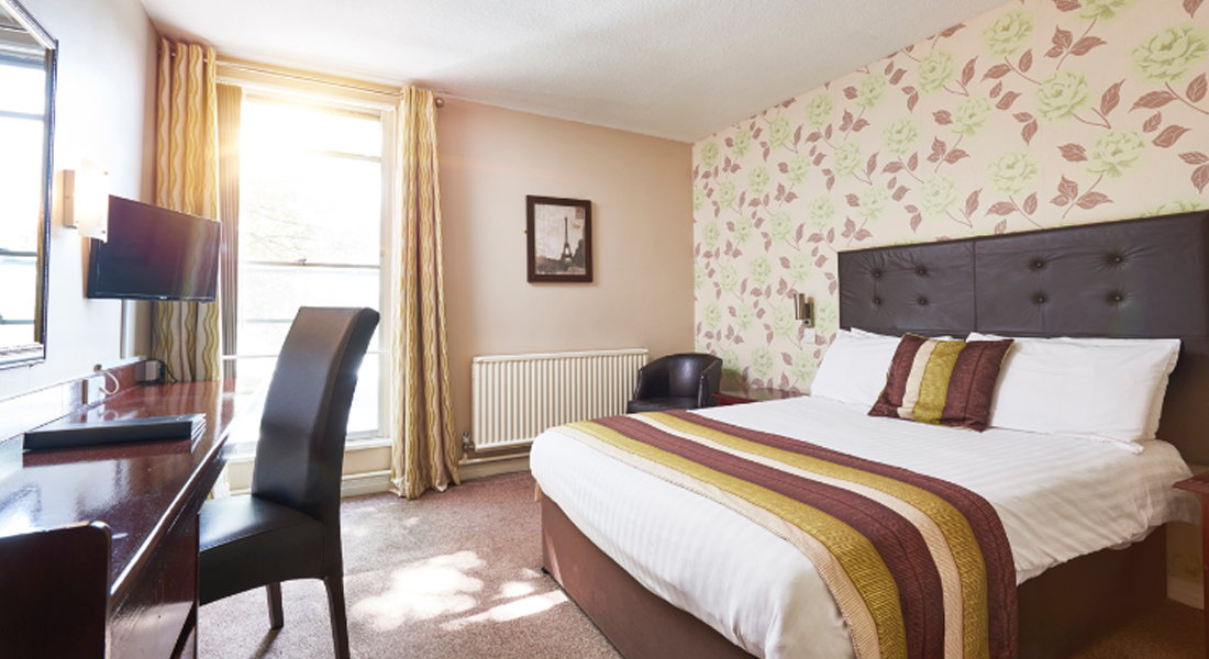 St James Bedroom | The St James Hotel