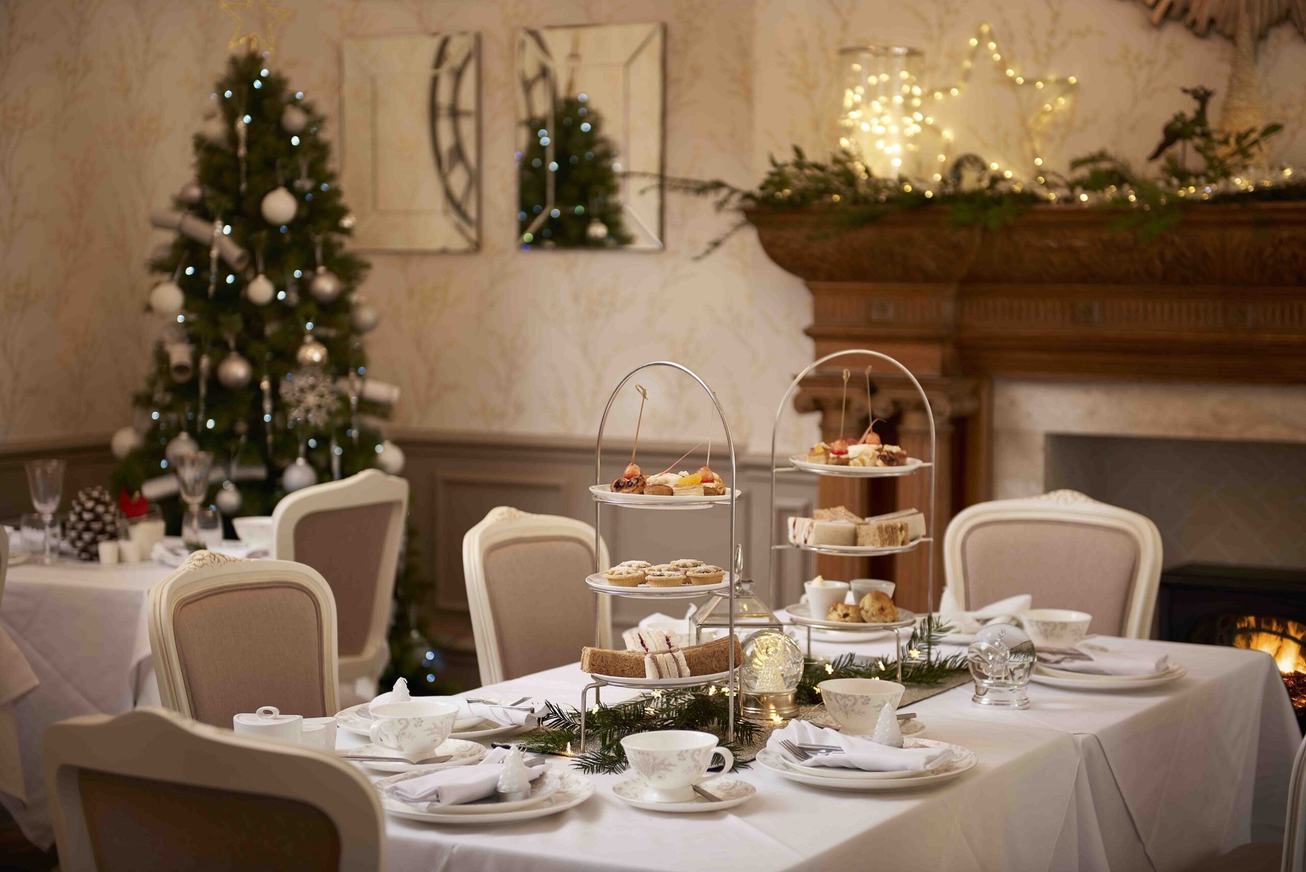 The Regency Hotel at Christmas